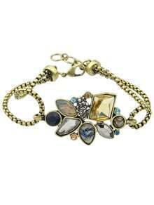 Colorful Rhinestone Fashion Bracelet Jewelry