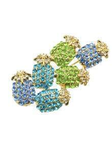 Cute Rhinestone Brooch for Women