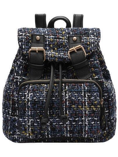 Стильный рюкзак с пряжкой