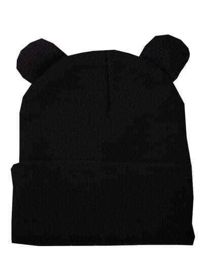 Black Woman Hat With Ears