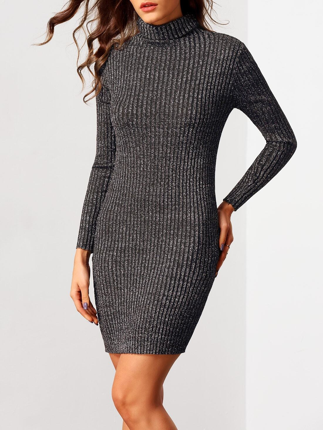 Robe pull gros col