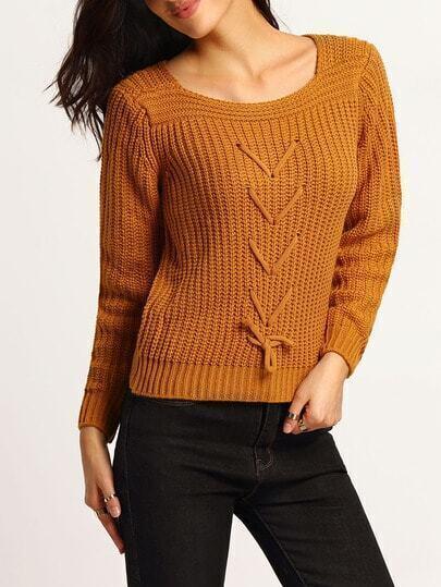Вязание кроп свитера 22