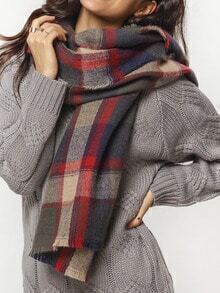 Colour Plaid Classic Scarve