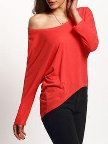 High Low Loose Melon T-shirt