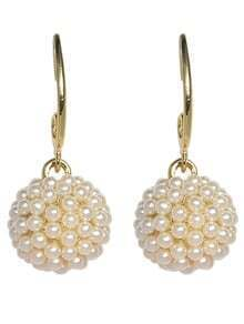 Imitation Pearl Clip On Earrings