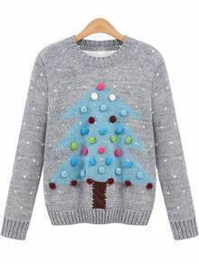 Christmas Tree Pullover Sweater