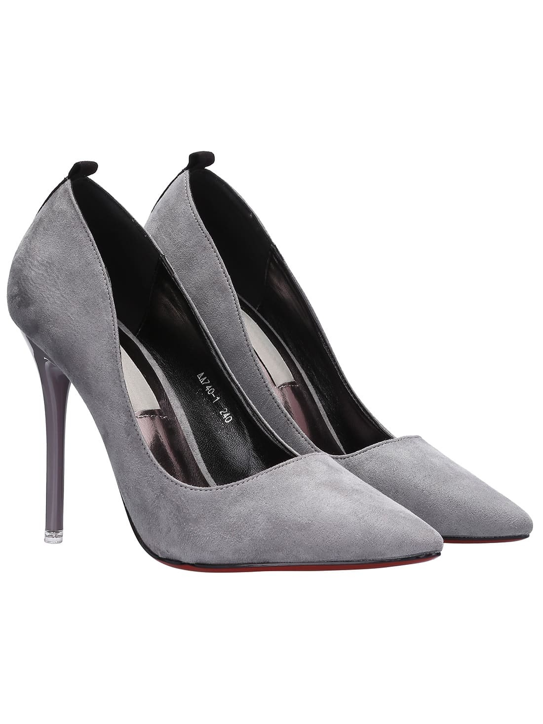Find great deals on eBay for grey suede pumps. Shop with confidence.