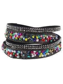 Colorful Beads Multilayers Women Wrap Bracelet Jewelry