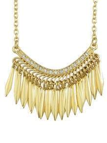 Long Spike Hip Pop Necklace