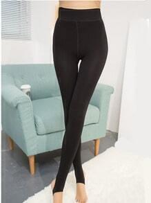 Black Skinny Thicken Leggings