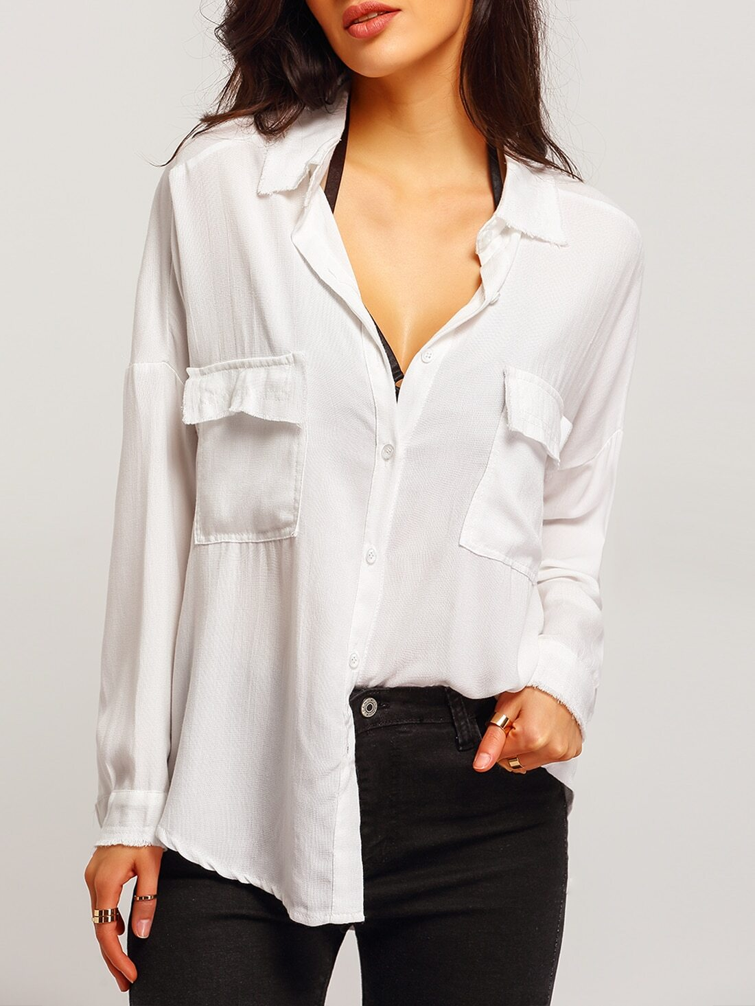 Shirts & Blouses. From breezy, boho blouses to oversized, athletic-inspired T-shirts, GoJane carries all of the latest trends in tops, blouses and shirts.