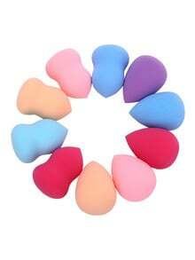 1pcs Calabash Waterdrop Shaped Random Makeup Puffs