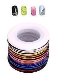 30 pcs Rolls Striping Tape Line Painting Line Nail Art Sticker