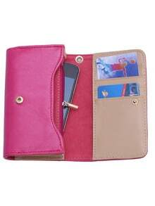 Rose Red Large Capacity Casual Multi-use Wallet