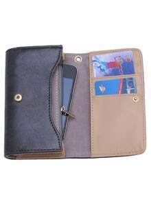 Grey Large Capacity Multi-use Casual Wallet