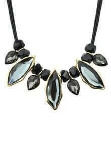 Adjustable Gemstone Necklace