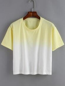 Ombre Loose T-shirt