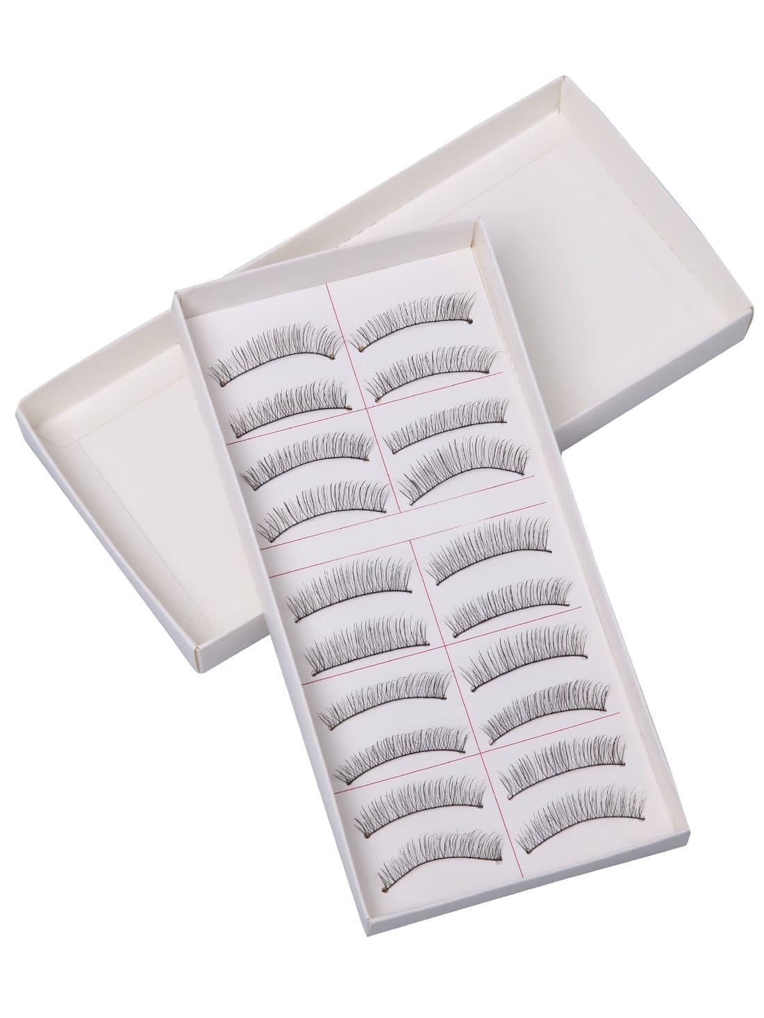 Natural False EyelashesNatural False Eyelashes<br><br>color: Black<br>size: None