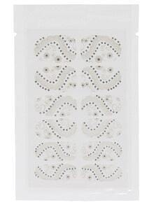 Flower Rhinestone Nail Sticker