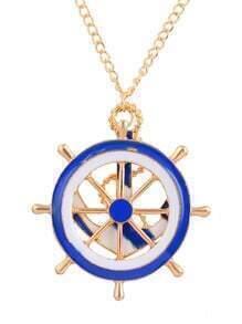 Anchors Pendant Necklace