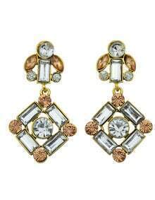 Rhinestone Daily Wear Earrings