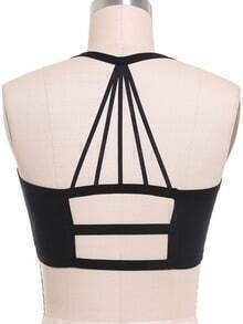 Halter Backless Black Lingerie