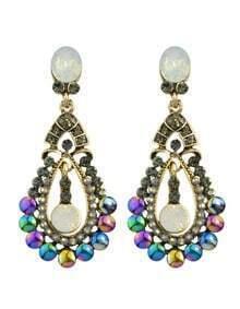 Atgold Rhinestone Drop Earrings