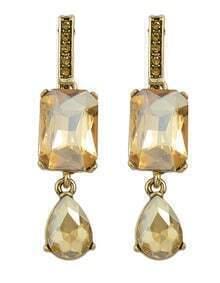 Champagne Double Stud Earrings