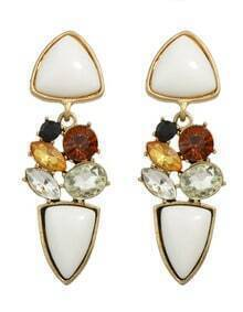 Gemstone Hanging Women Earrings