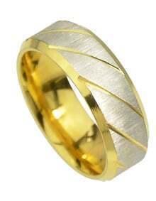 Gold Punk Rock Metal Rings