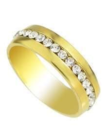 Gold Plated Rhinestone Rings