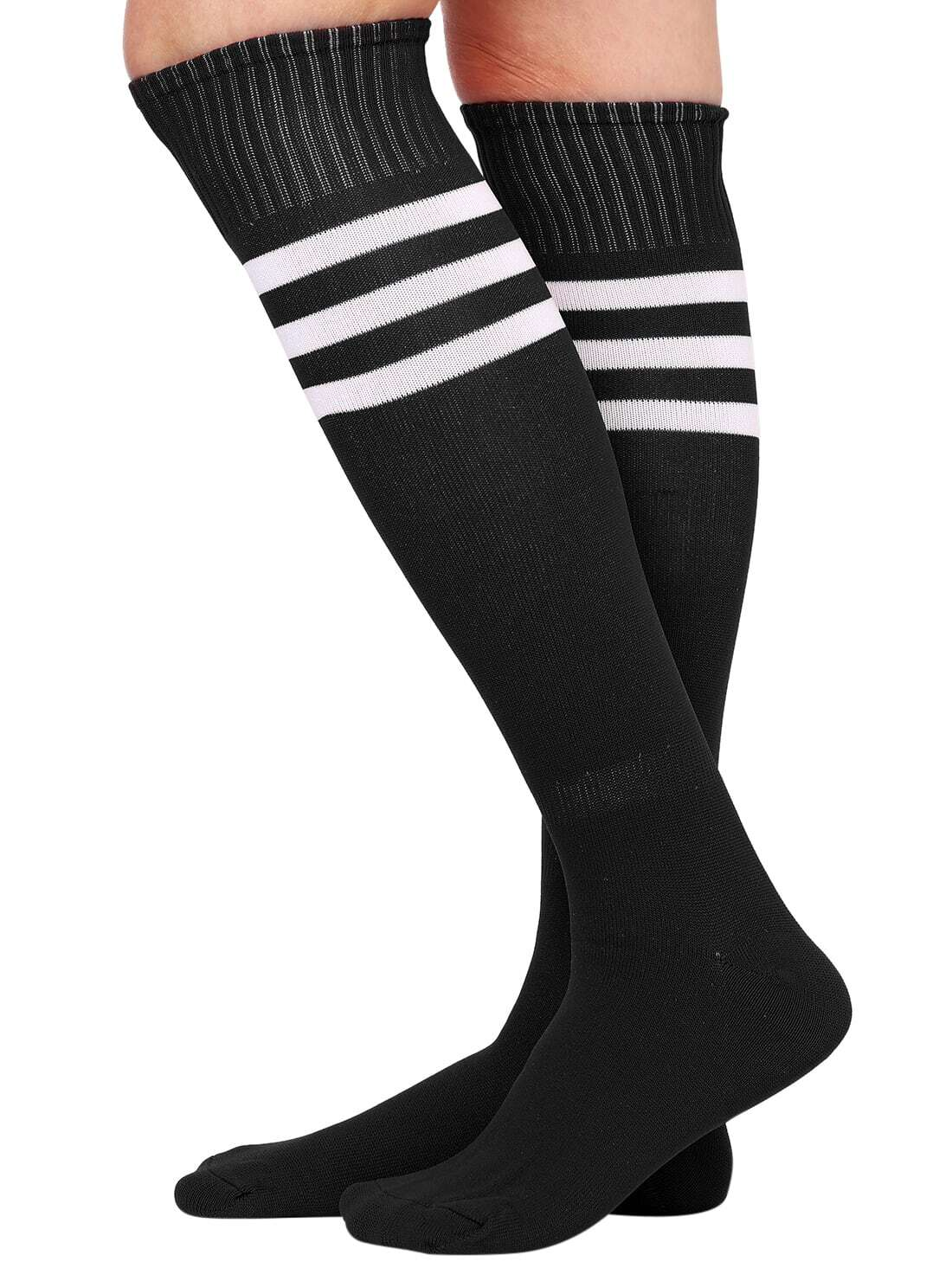 Black Tube Socks With Shoes