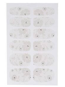 Lace Pattern Nail Polish Sticker