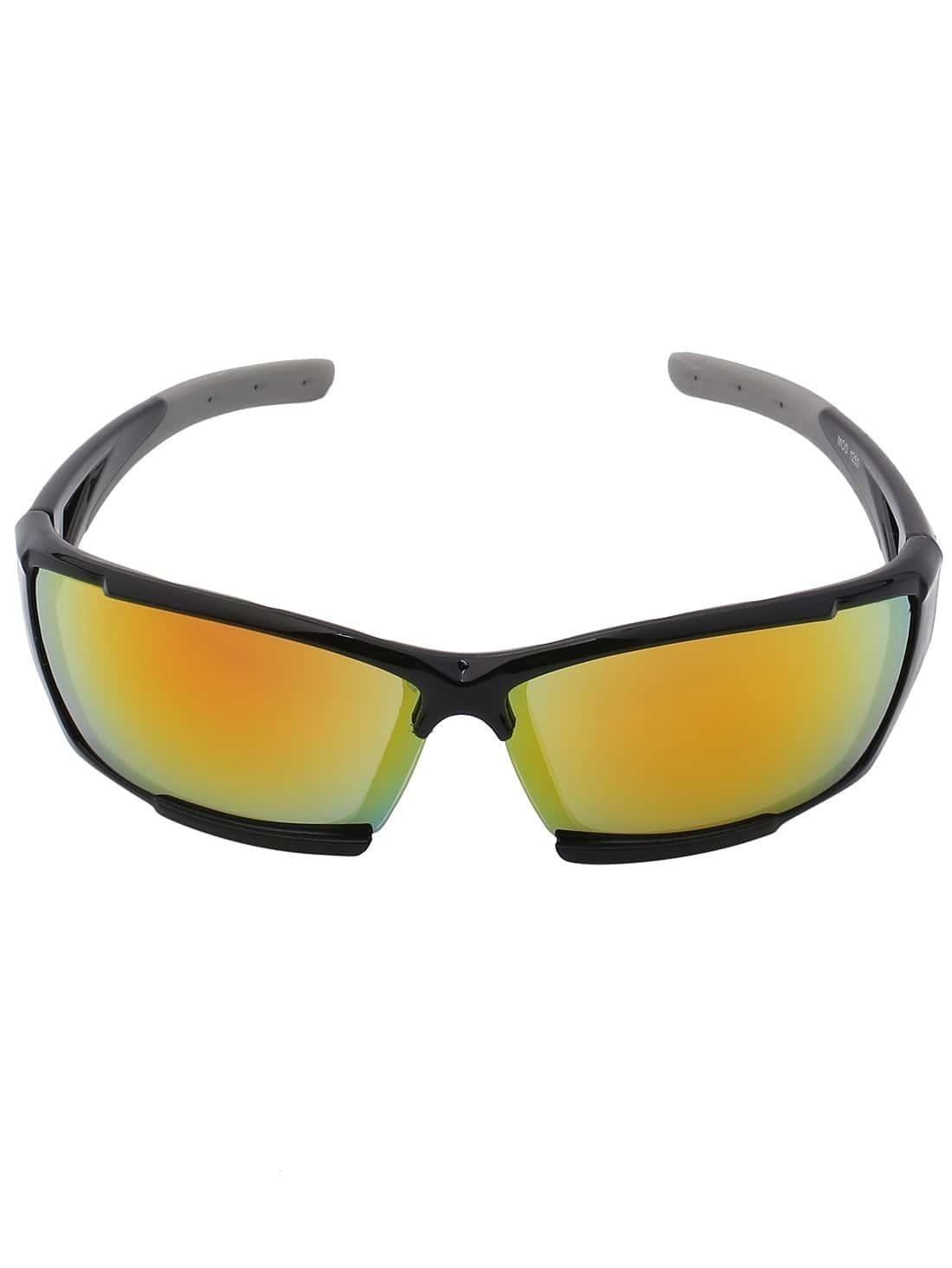 Black Frame Fashion Sunglasses -SheIn(Sheinside)