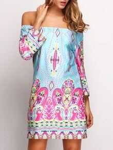 Bardot Paisley Print Dress