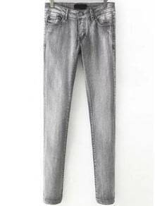 Slim Denim Grey Pant