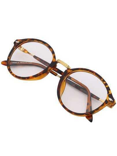 Leopard Frame Classic Sunglasses