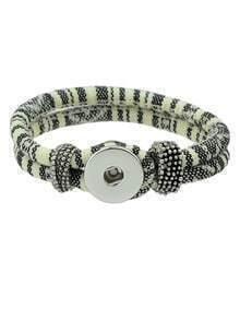 Beige Cotton Women Bracelet
