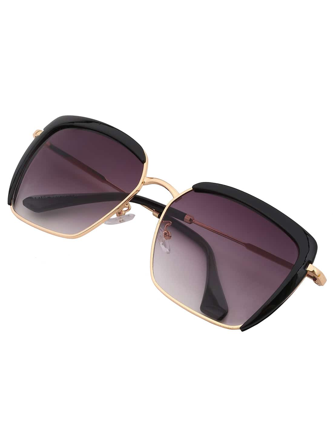 Фото Metal Plastic Mixed Black Frame Square Lenses Sunglasses. Купить с доставкой