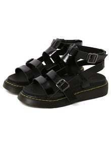 Sandale avec boucles