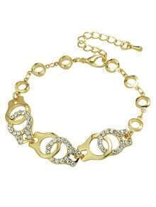 Gold Plated Chain Link Bracelet
