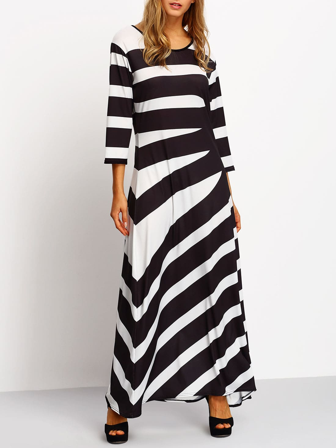 Buy Bohemian Striped Bell Sleeve Maxi Dress online with cheap prices and discover fashion Maxi Dresses at ciproprescription.ga