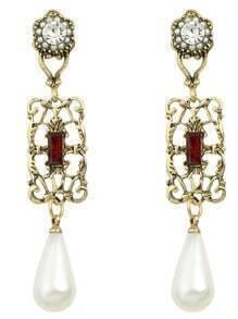 Pearl Women Drop Earrings