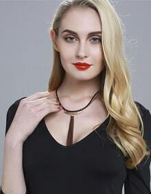Gold Punk Rock Collar Necklace