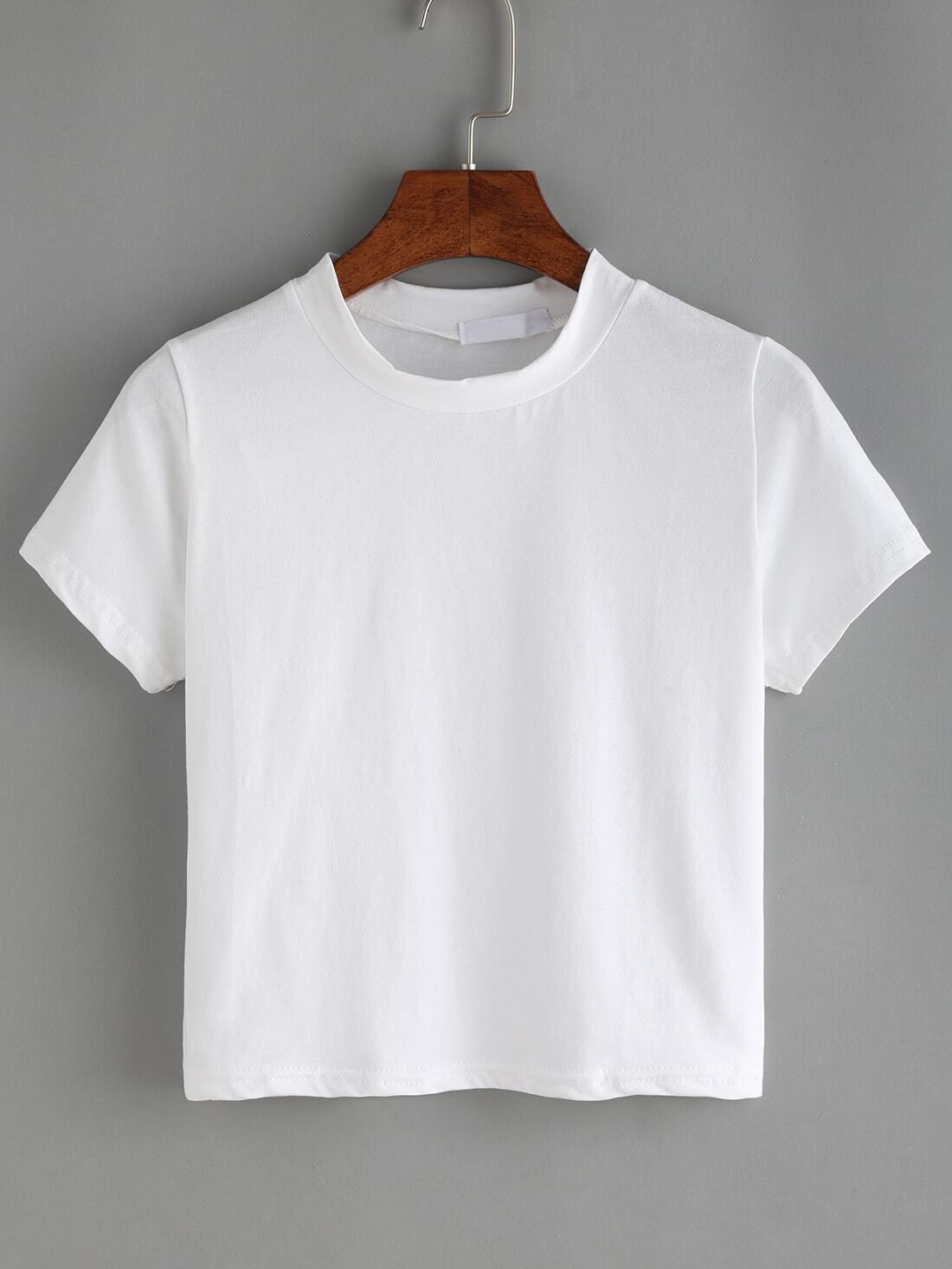 Фото Crew Neck Basic T-Shirt. Купить с доставкой