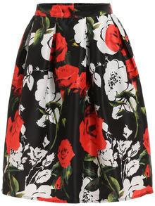 Florals A-Line Skirt