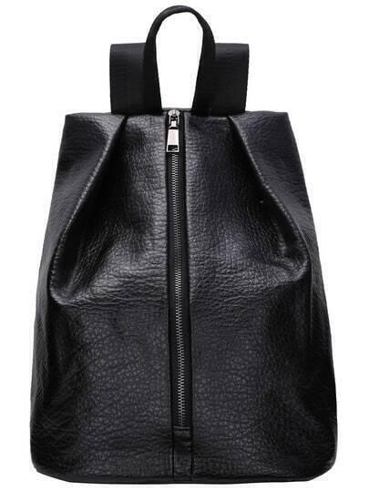 Front Zip Fold Corner Backpack