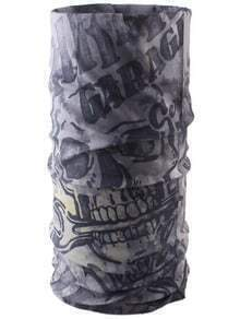 Polyester Skull Printed Neckerchief