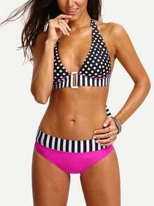 Halter Mix & Match Bikini Set