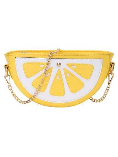 Sweet Lemon Chain Bag